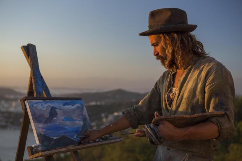 Julio Andrade em cena do filme Maresia, trabalho do diretor Marcos Guttmann sobre pintor espanhol Vega