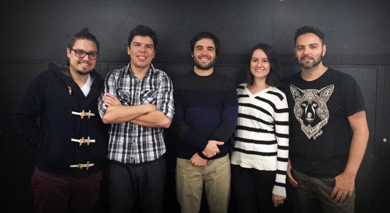 Edgard Vidal, Lucas Cordeiro, Gustavo Orsati, Julia Rebouças, Thómas Fernandes são os criadores do Projeto Olhe