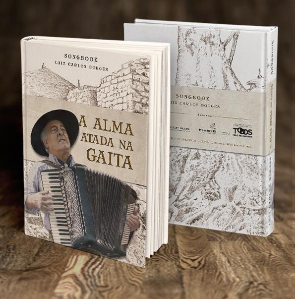 Songbook biográfico lançado em 2016 teve coordenação da esposa, Andressa Camargo
