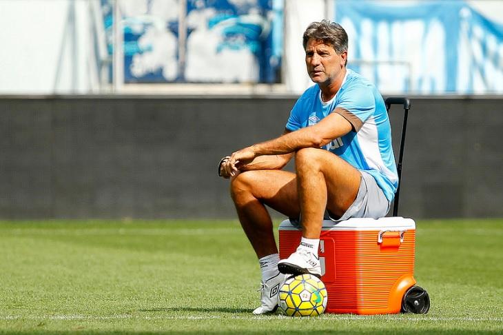 Portaluppi orientou último treino do Grêmio antes da decisão na Copa do Brasil