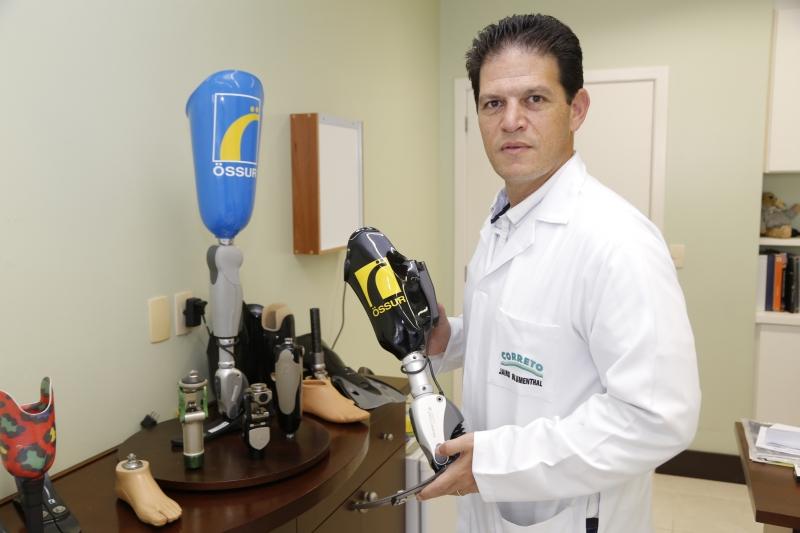 Jairo Blumenthal, diretor da Össur Brasil. Na foto: Jairo Blumenthal
