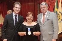 Jornalista do JC recebe distinção do Rotary Club
