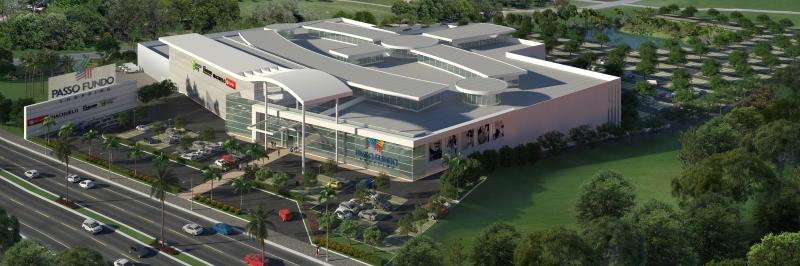 Pg3 - Projeto do Passo Fundo Shopping. Divulgação Passo Fundo Shopping