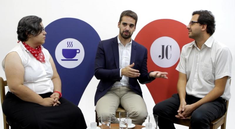 Leite conversou com Lívia Araújo e Guilherme Kolling, no Politiquim, sobre os planos para 2018