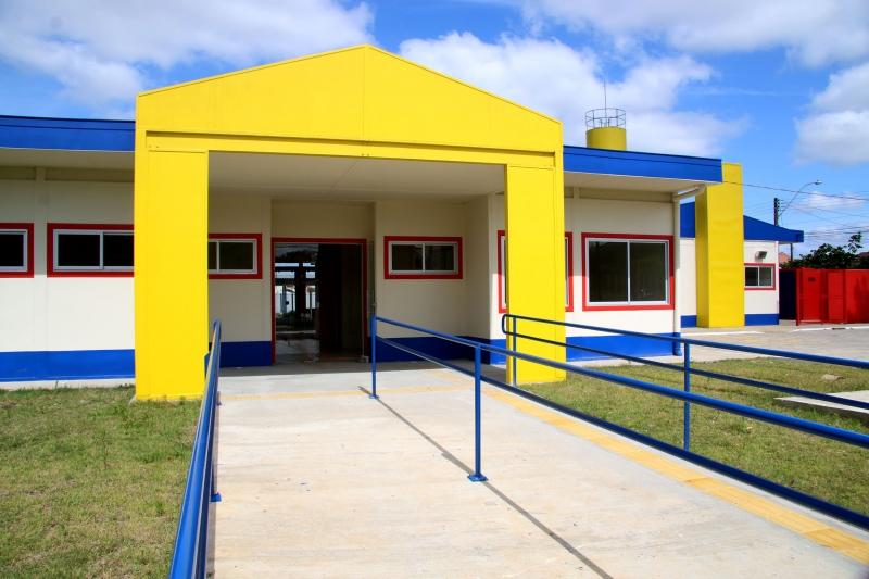 Escola Municipal de Educação Infantil Santo Expedito será inaugurada dia 16 de dezembro Crédito Andrea Pinto Divulgação PMPA