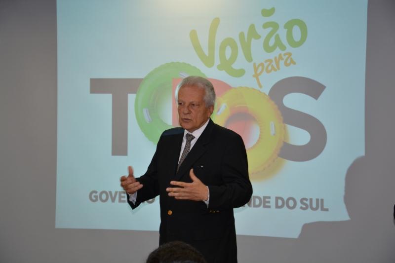 Vice-governador José Paulo Cairoli apresentou detalhes da operação de verão