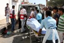Ataque de homem-bomba mata 50 soldados