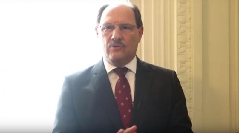 Fala do governador foi transmitida pela internet