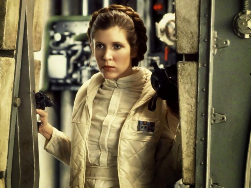 Intérprete da Princesa Leia, Carrie Fischer morreu aos 60 anos