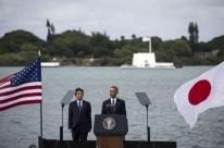 Premiê japonês visita Pearl Harbor