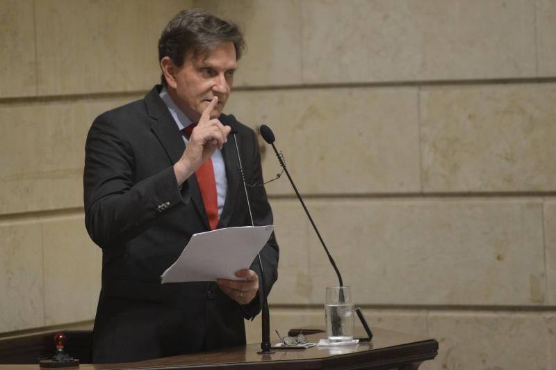 Marcelo Crivella agradeceu os votos da comunidade evangélica do Rio