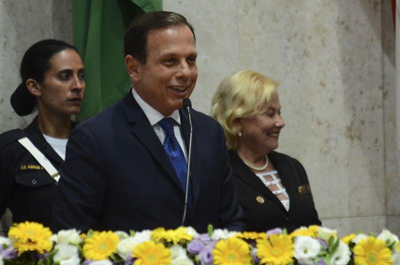 São Paulo - Sessão solene de posse dos vereadores e do prefeito João Doria, na Câmara Municipal (Rovena Rosa/Agência Brasil)
