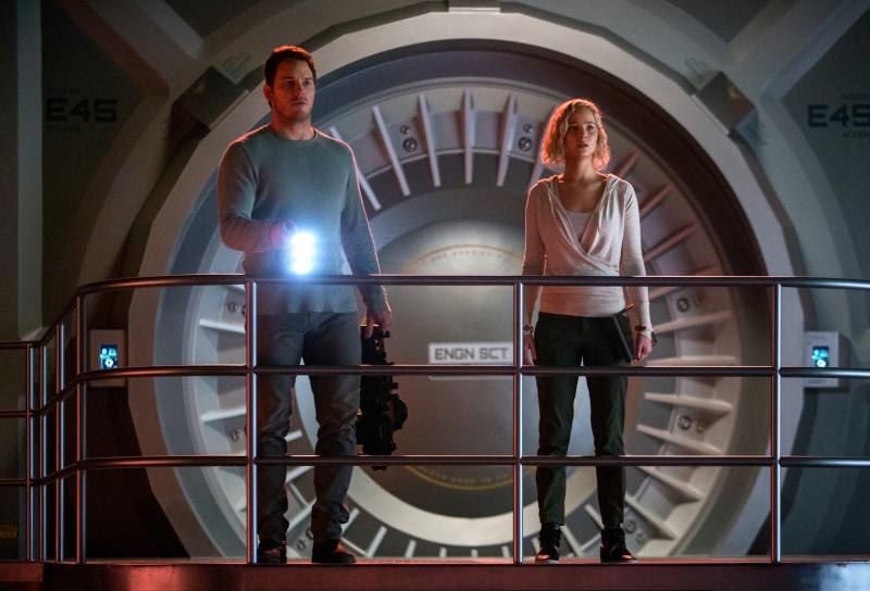 Chris Pratt e Jennifer Lawrence estrelam Passageiros