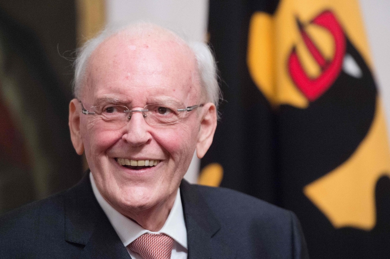 INT - Roman Herzog, ex-presidente alemão morto aos 82 anos - internacional - Alemanha