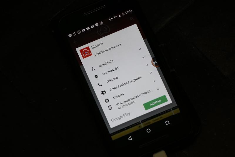 Sistema do Sintáxi, por exemplo, pede acesso ao banco de imagens