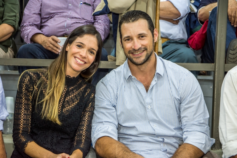 Daniela Appolonio Bastos e Luiz Paulo Martins Bastos no leilão Santa Causa: Solidariedade  a Galope