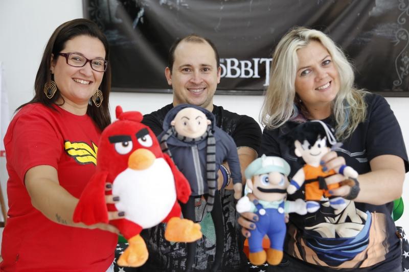 Andreia, Alexandre e Luciana promovem de seis a oito eventos por mês no bairro Tristeza, em Porto Alegre