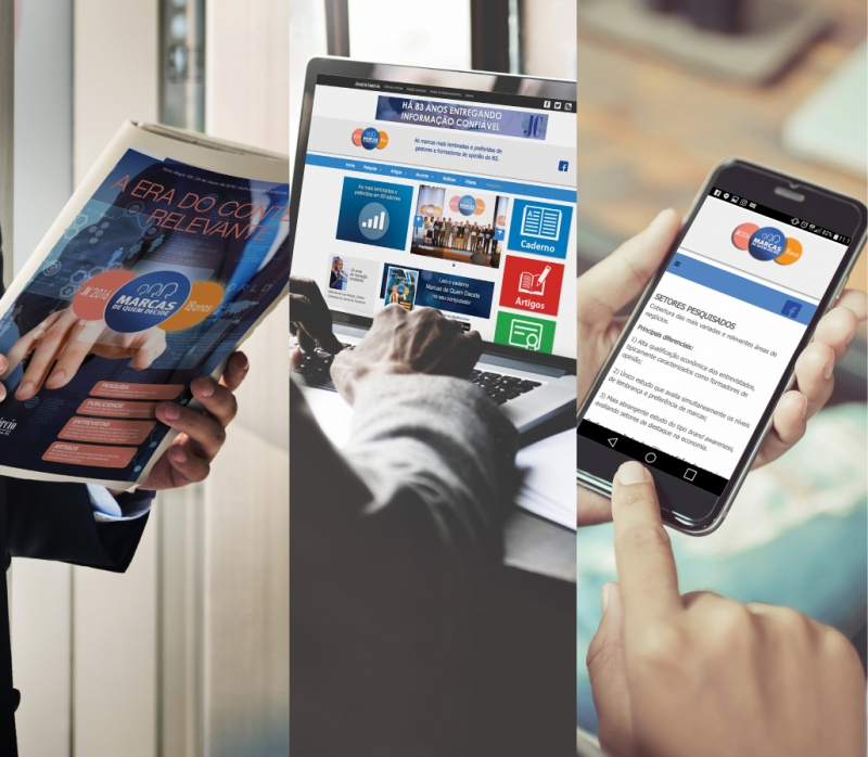Resultados serão disponibilizados em diversas plataformas do Jornal do Comércio