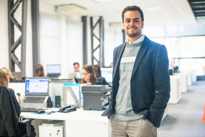 Gabriel Santos é coordenador do Midi Tecnológico