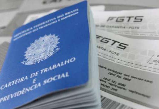 Carteira de Trabalho e extrato do FGTS saques de contas inativas - trabalho, emprego, dinheiro