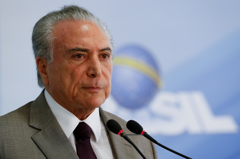 (Brasília - DF, 13/02/2017) Pronunciamento à imprensa do Presidente Michel Temer. Foto: Beto Barata/PR