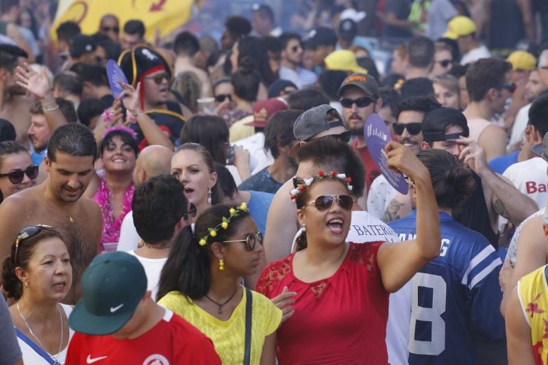 Carnaval de rua da Cidade Baixa.