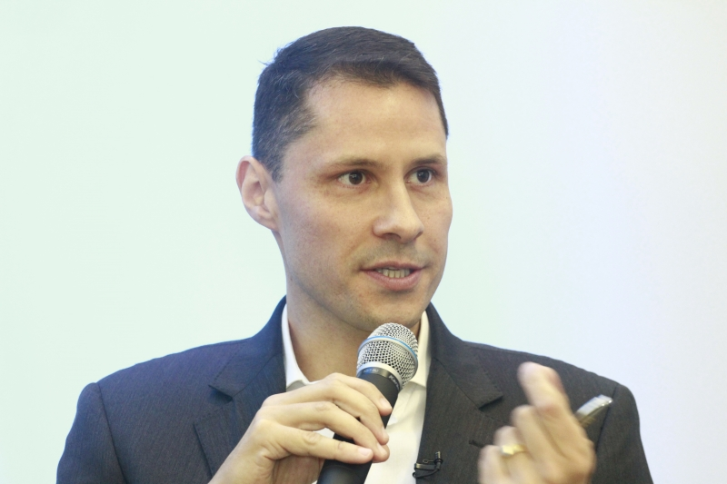 Rodrigo Silveira, gerente de Marketing das Tintas Renner
