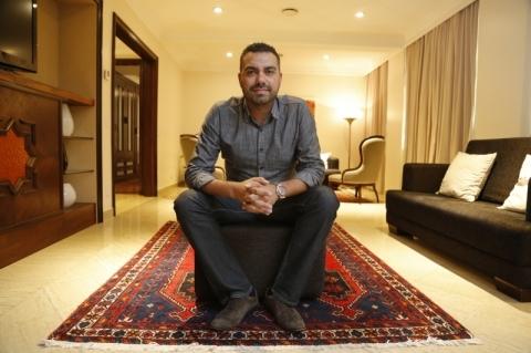 Para a entrevista, a Bonvenon deixou à disposição do GE a suíte presidencial do Hotel Plaza São Rafael