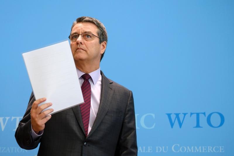 Diretor-geral Roberto Azevêdo foi o único que se apresentou ao cargo