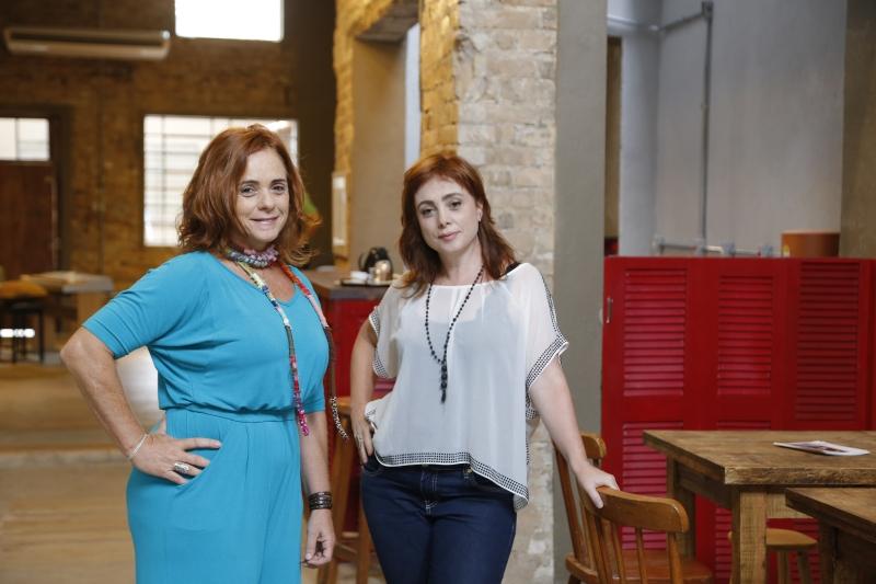 Espaço 373 das irmãs Fernanda e Silvana Diniz Beduschi. Imóvel sublocado por mais de um negócio. na foto: Silvana  e Fernanda Diniz Beduschi