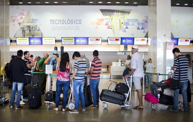 Novas regras sobre a franquia de bagagens começam a valer para passagens compradas a partir do dia 14