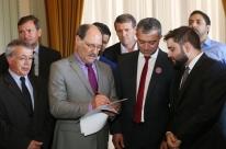 Sartori discute Lei Kandir com deputados estaduais