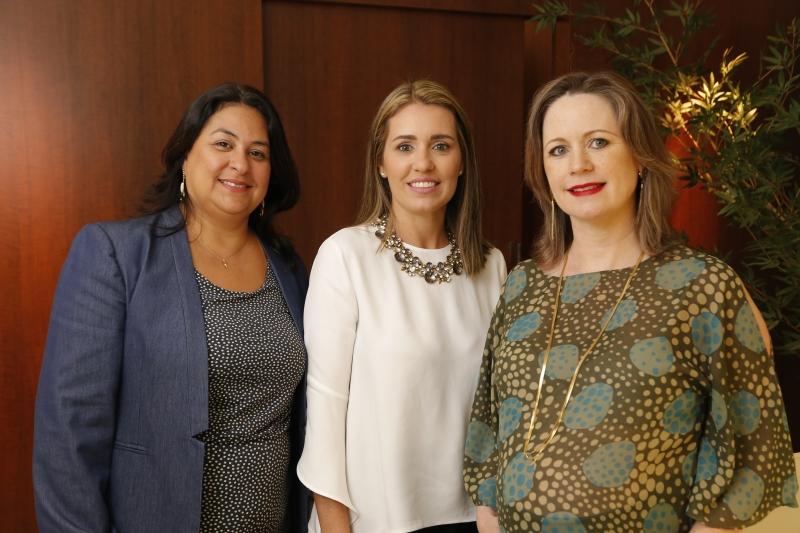 Niris, Deborah e Michele: relação entre sócias e funcionários sempre proporcionou diálogo e desenvolvimento