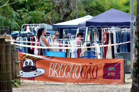 Brechocão tem edição extra no Parque da Redenção