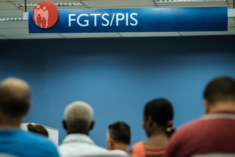 contas inativas, FGTS, Caixa Econômica Federal 