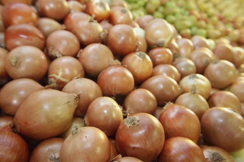 Preço da cebola recuou 29,72% no período e influenciou o resultado