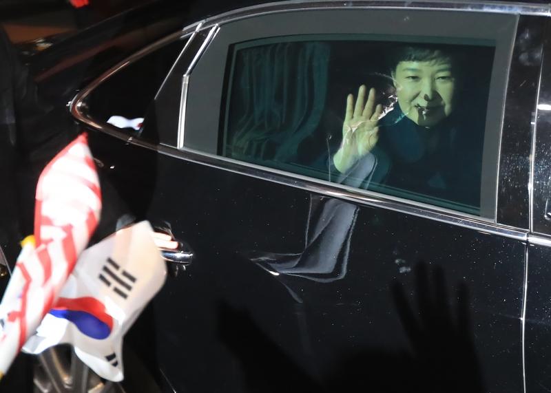 Park Geun-hye deixou casa presidencial dois dias depois que a corte constitucional confirmou seu impeachment