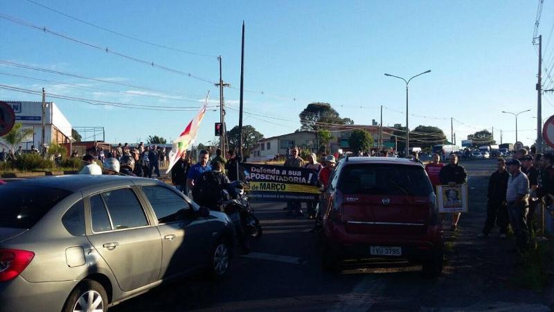 Protestos contra a Reforma da Previdência mobiliza diversas categorias nesta quarta-feira