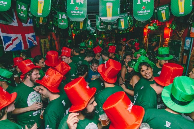 Saint Patrick's Day será comemorado nesta sexta-feira com eventos em Porto Alegre