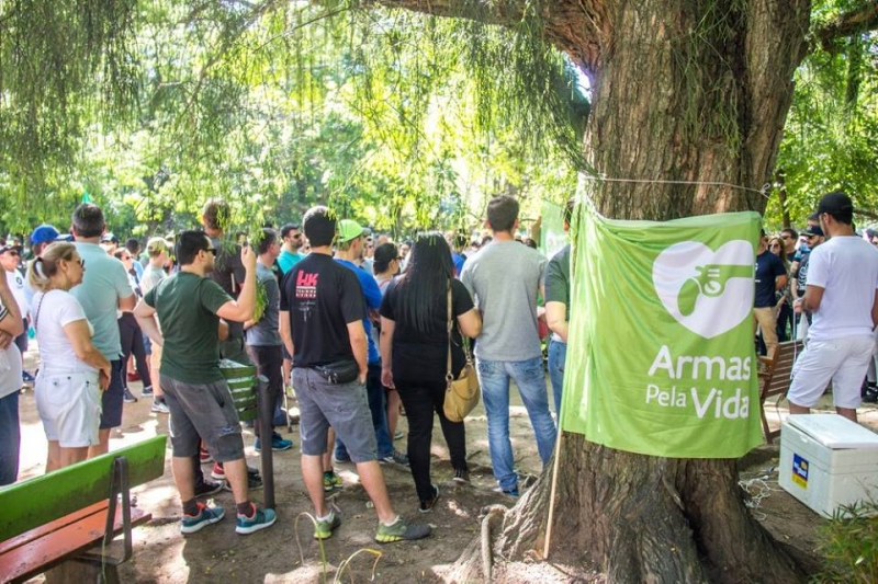 Evento reuniu cerca de 200 pessoas no Parcão no ano passado
