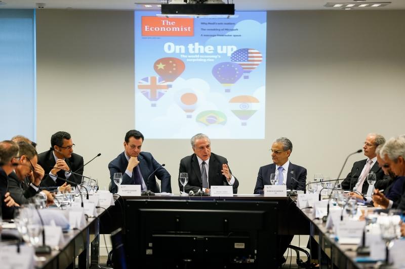 A declaração foi feita para uma plateia de empresários em reunião promovida pela Confederação Nacional da Indústria (CNI) na capital paulista