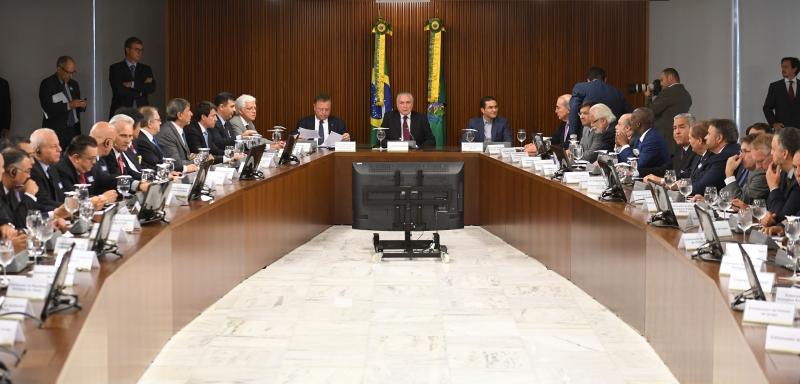 Presidente se reuniu com 40 representantes de países importadores de carne brasileira