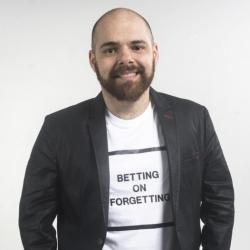 Cristiano Fragoso, Innovation Designer da Plim! Unconventional Projects                                     e Head de Planejamento da DeBrito Propaganda