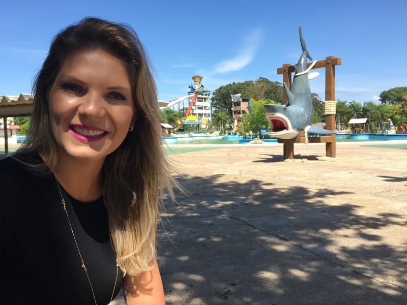 iretora administrativa da empresa  Eleandra Teixeira credito divulgaçao Marina Park EMPRESAS E NEGÓCIOS