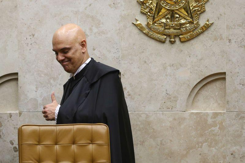 O jurista Alexandre de Moraes toma posse no cargo de ministro do Supremo Tribunal Federal