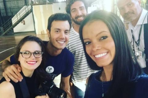 A pauta de hoje foi com o patinador @marcelsturmer, que abriu uma escola em Porto Alegre para iniciantes ou competidores. E ó: é pra qualquer idade. Acompanhe nosso dia a dia no instagram @jcgeracaoe =)