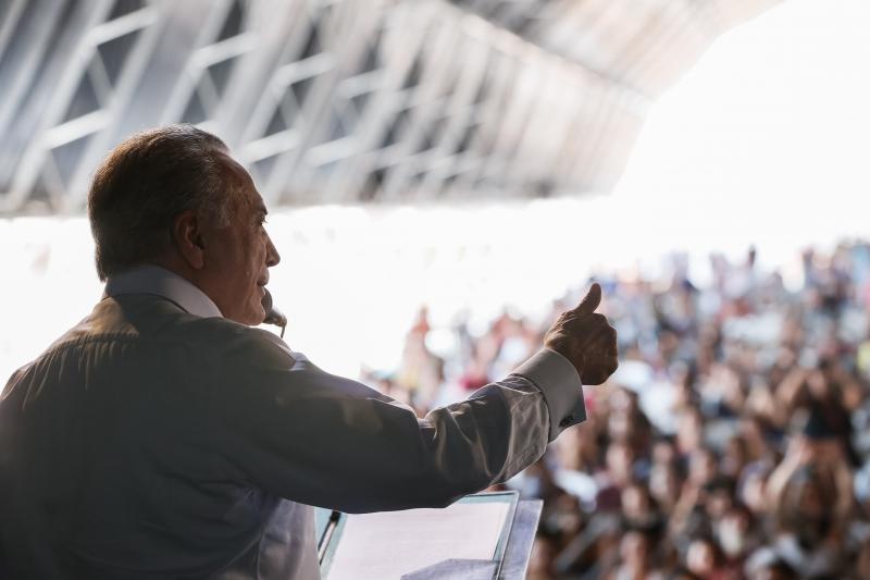 Temer fez a declaração durante cerimônia do do programa Minha Casa, Minha Vida em São Paulo