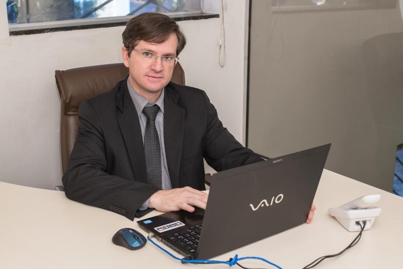 Evanir Aguiar dos Santos, diretor Operacional da Fortus - divulgação Fortus