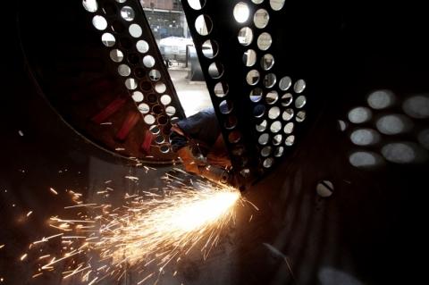Produção brasileira de aço no 1º semestre cai 1,40% na comparação anual