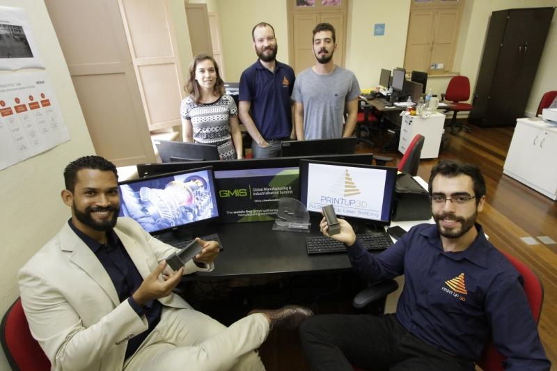 Equipe da Print 3D está sempre ligada em editais de investimentos